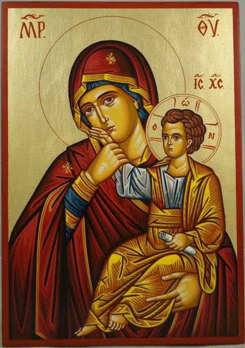 theotokos_paramythia_hand-painted_byzantine_icon_1